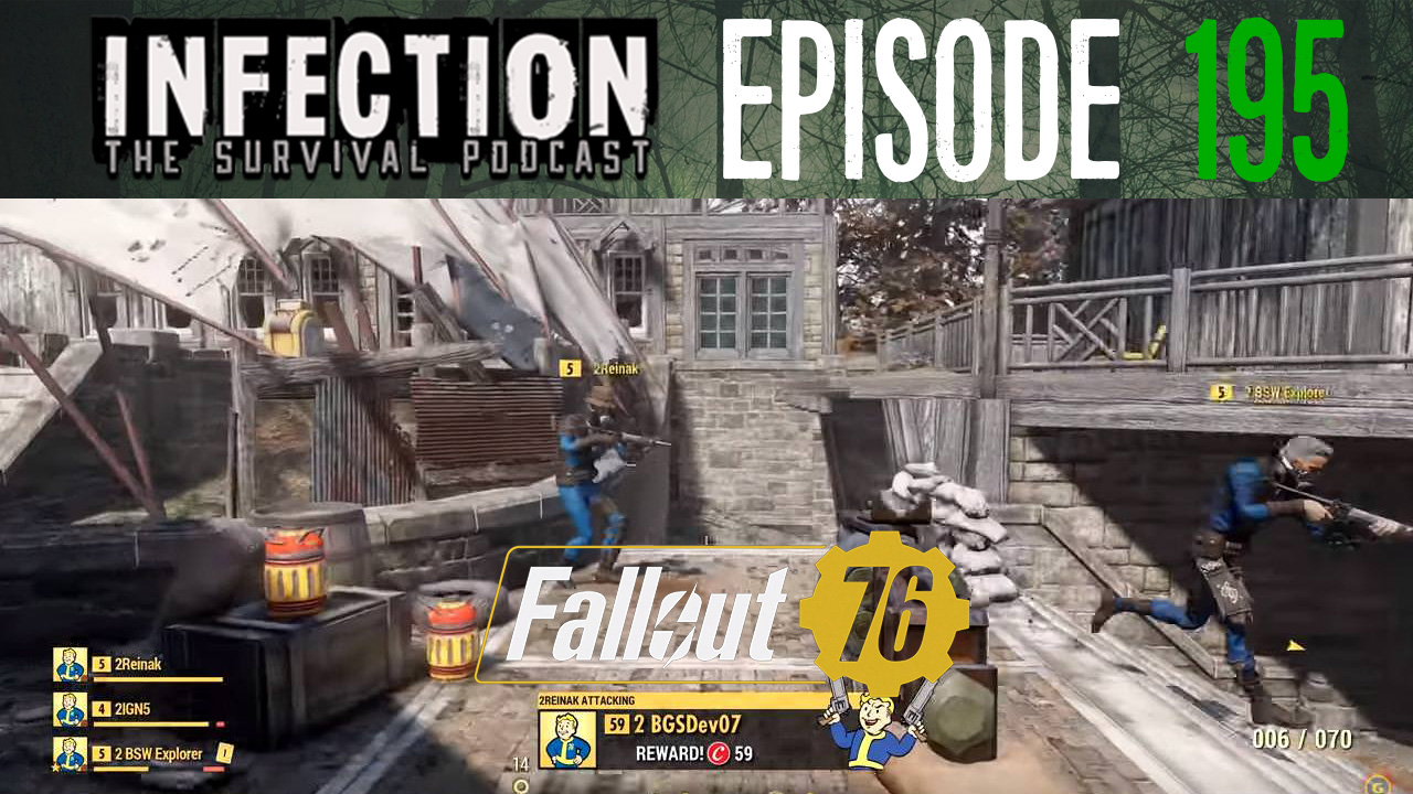 Lonely Multiplayer – Infection – The SURVIVAL PODCAST Episode 195 on